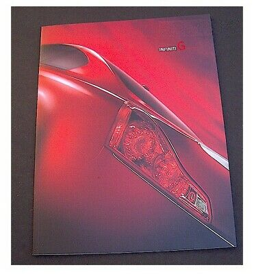2009 INFINITI G G37 COUPE PRESTIGE BROCHURE 36pages FREE SHIPPING USA