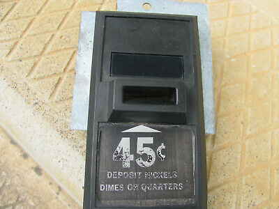Cavilier Black Coin Inlet Plate For Css 8 Or 12 Coke Mach