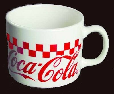 Coca Cola Gibson Checkered 16 oz Large Souper Mug