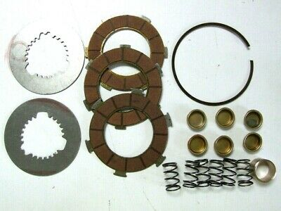 Clutch Plate Kit For Vespa Scooters With A  6 Spring Set Up.