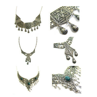 Wholesale Lot  925 Sterling Silver Artisa Filigree 3 Exclusive Necklaces