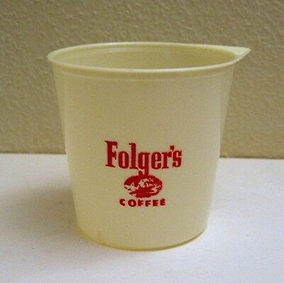 Folgers Logo Plastic Adv Coffee Scoop Old Store Stock