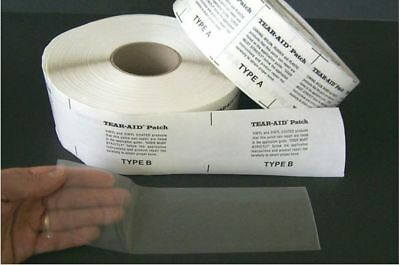 "TEAR-AID PATCH TAPE 3"" x 60""  WATER SLIDE REPAIR & MORE"