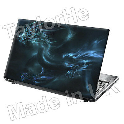 Laptop Skin Cover Notebook Sticker Decal Blue Dragon 60
