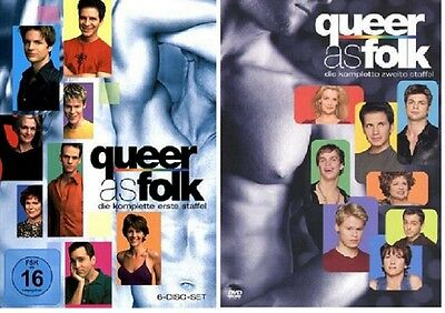 DVD Set * Queer as Folk * Staffel 1+2 (Qwer) * NEU OVP