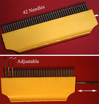 Adjustable Curved Transfer Combs Brother Singer Knittin