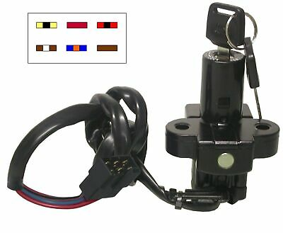 Ignition Switch For Honda 6Wire VFR700 1986-89