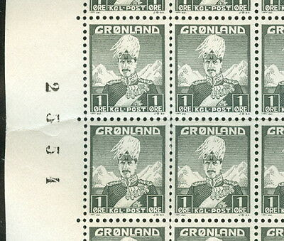 GREENLAND #1-9 Complete set First Issue Sheets of 100