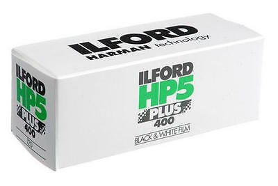 Ilford HP5 PLUS 120 Film B+W (4 Rolls) *CHEAPEST*