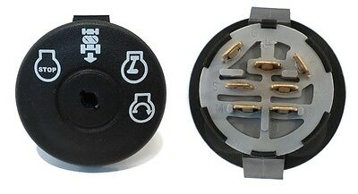New STARTER IGNITION KEY SWITCH for Husqvarna 532193350 Lawn Mower Rider Tractor