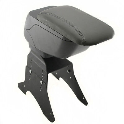 Universal Armrest Centre Console Grey Fits Ford Fiesta Focus Mondeo