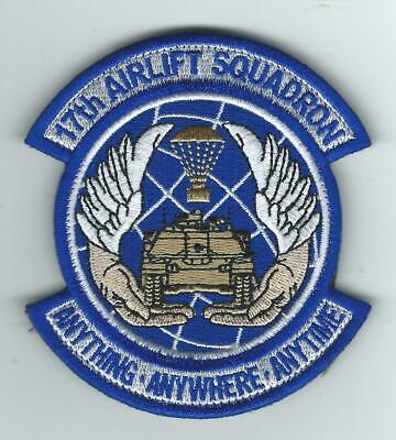 17th AIRLIFT SQUADRON patch