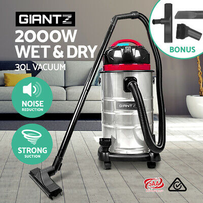 Giantz 30L Wet & Dry Vacuum Cleaner and Blower Industrial Grade Bagless Drywall