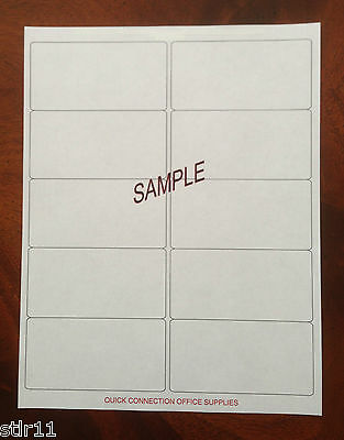 "120 Blank Shipping Labels  2"" x 4"" - ( 10 Per Sheet ) ""FREE SHIPPING"""