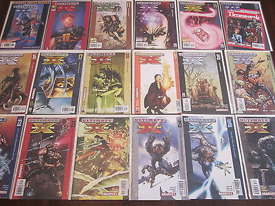 Ultimate X-Men lot of 60 issues