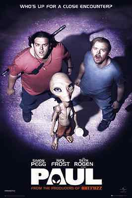 Paul The Movie Nick Frost Pegg Poster New Fp2527 (70)