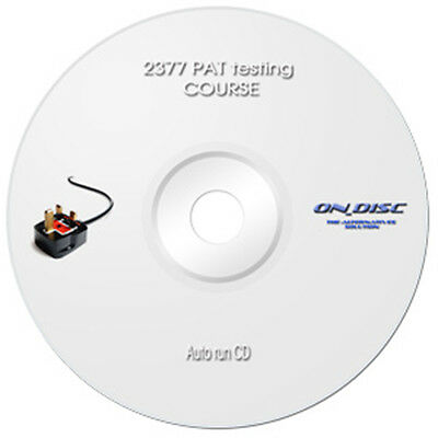 C & G  2377 PAT Testing Course 17th Edition CD