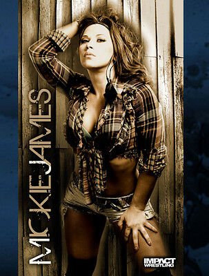 Official TNA Impact Wrestling Mickie James 3 x 5 Banner