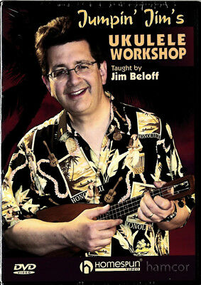Jumpin' Jim's Ukulele Workshop Learn How to Play Uke Tuition DVD by Jim Beloff