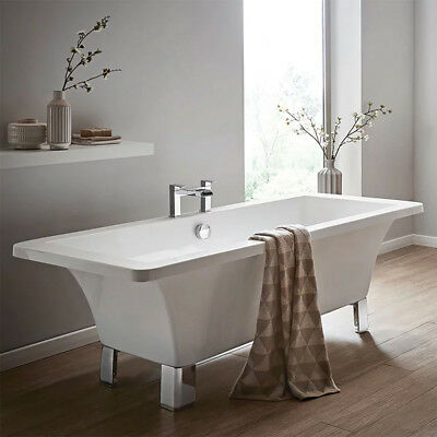Freestanding Bath Izar 1700mm x 750mm Bathtub Modern Luxury Bathrooms White