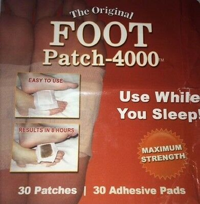 MaritzMayer Detox Foot Patch 30ct Natural Herbal Pad Whole Body Purify Cleanse