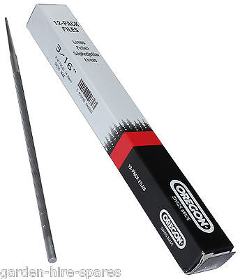 OREGON 3/16 4.8mm Pack Of 12 Chainsaw Files For STIHL .325 Saw Chain