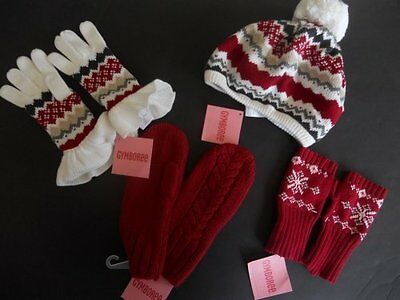 NWT Gymboree LOTS Alpine Sweetie Penguin Chalet Sweater Hat Mittens Gloves