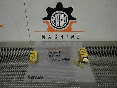 Square D B0.92 (2) And B4.85 (1) OVERLOAD THERMAL UNIT HEATING ELEMENT NEW
