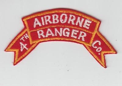 Army Patch:  4th ABN Ranger Company  - COPY