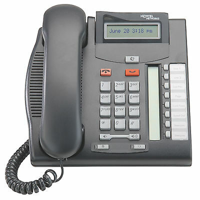 Nortel Norstar T7208 Phone T-7208 Telephone NT8B26AABA