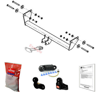 Witter Towbar for Jeep Patriot 2007-2012 - Flange Tow Bar
