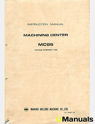 makino mc86 machining center instruction and maintenance manual rh picclick com