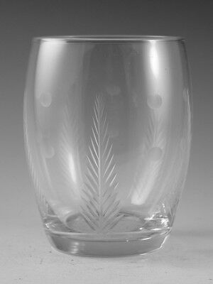 "STUART Crystal - WOODCHESTER Spot - Large Tumbler Glass / Glasses - 3 3/4"" (1st)"