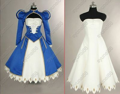 Fate stay night Saber Cosplay Costume Custom Any Size