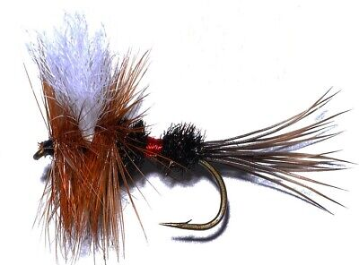10 Royal Wulff Dry Fly Fishing Flies all sizes