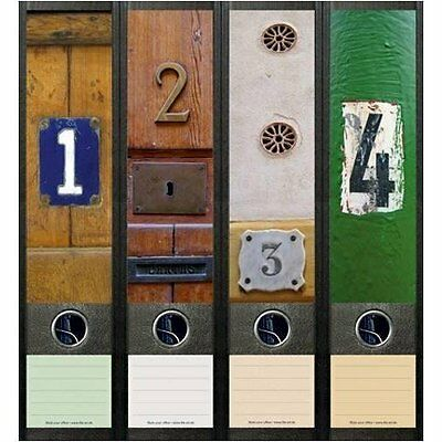 File Art 4 Design Ordner-Etiketten Doors.....................................058