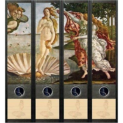 File Art 4 Design Ordner-Etiketten Botticelli................................072
