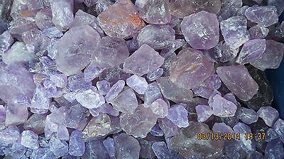2270 Carats  Rough Amethyst Gem Natural Mineral Lot 1Lb