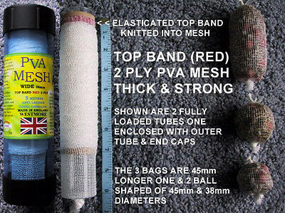 WESTMORE PVA MESH 38mm WIDE Make Carp Stocking Rig Bags Refills SELECT METRE QTY