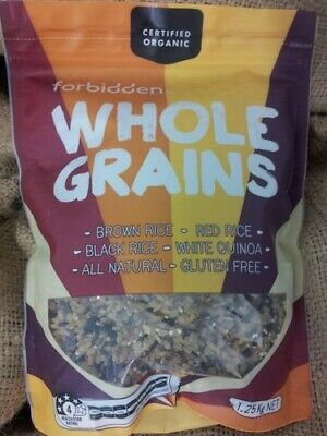 Organic Brown Rice Forbidden 1.5Kg - Gluten Free