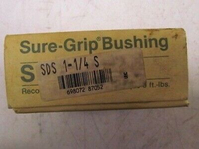 "Martin T B Woods SDS 1 1/4 QD Quick Disconnect Tapered Bushing 1 1/4"" Bore NIB"