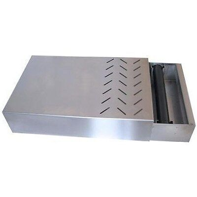 Under Grinder Knockout Draw  Brushed Stainless Steel