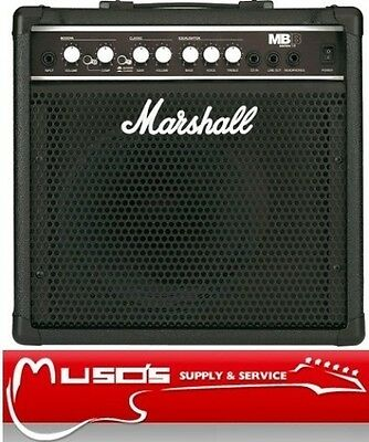 Marshall MB15 15W Bass Amplifier $189 + POSTAGE $10 for Greater Sydney