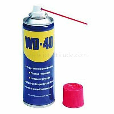 WD40 - dégrippant, nettoyant, anti-humidité .. WD-40 - 400ml - anti-corrosion