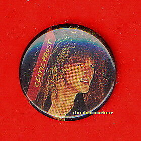 Celtic Frost 1987 uk badge button pinback MINT CONDITION ww zzz