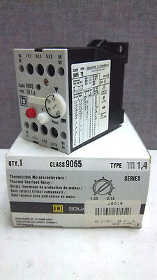Square D Overload Relay 9065 Tr1,4 New 9065Tr14