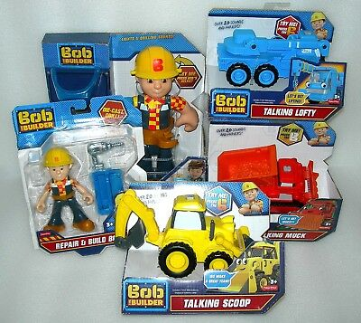 Bob The Builder and Friends Poseable Collectable Figures - ASST - BNIP