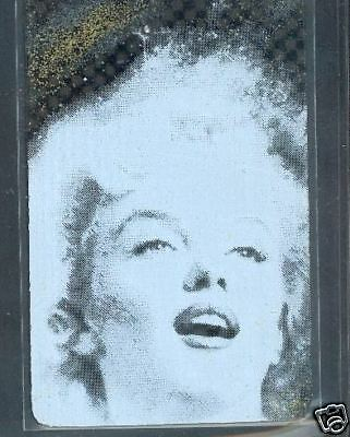 Marilyn Monroe - phonecard - Diamond card