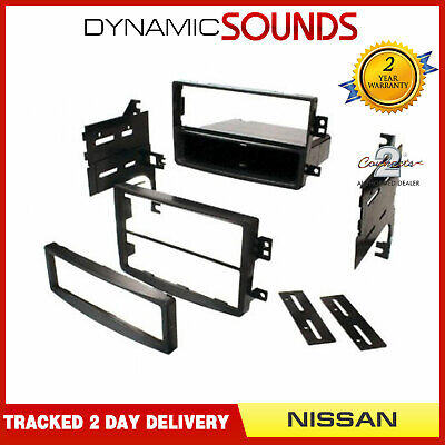 CT24NS05 Double / Single Din Fascia Surround Panel Adaptor For NISSAN 350Z