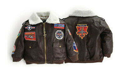 Up and Away Infant and Toddler A-2 Bomber Jacket